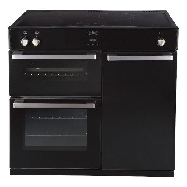 Belling DB4 900mm Electric Induction Range Cooker Black (444441672)