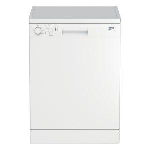 Beko DFN04C10 Freestanding Dishwasher Height Adjustable Upper Basket