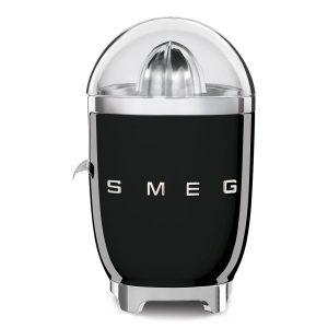 Smeg CJF01BLUK New 50s Retro Style Aesthetic Citrus Juicer, Black