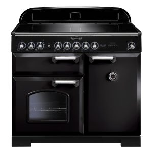 Rangemaster CDL100EIBL/C Classic Deluxe 100 Induction Range Cooker Black & Chrome