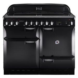 Rangemaster ELAS110ECBL Elan 110 Ceramic Range Cooker – Black