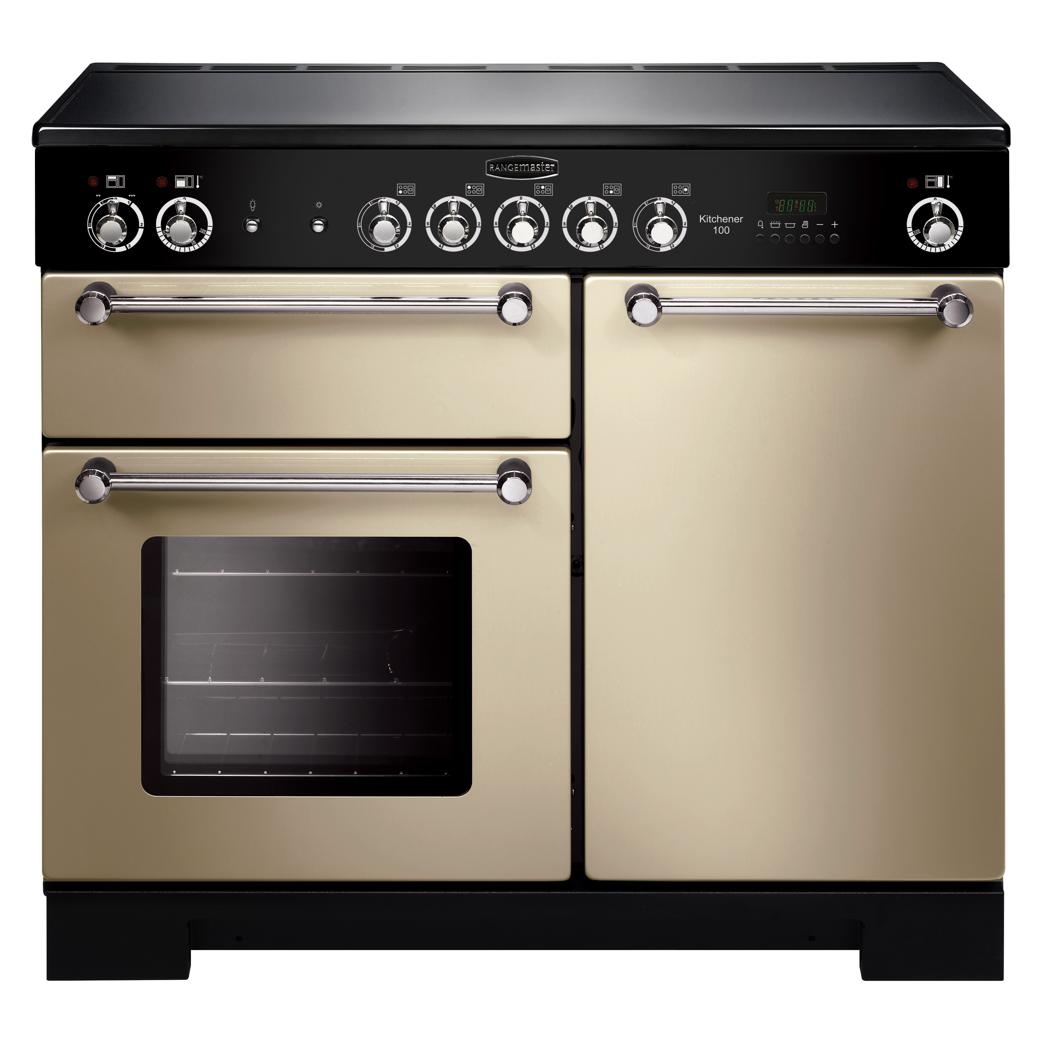 Uncategorized Appliance Kitchener buy rangemaster kch100eccr kitchener 100 ceramic range cooker cream