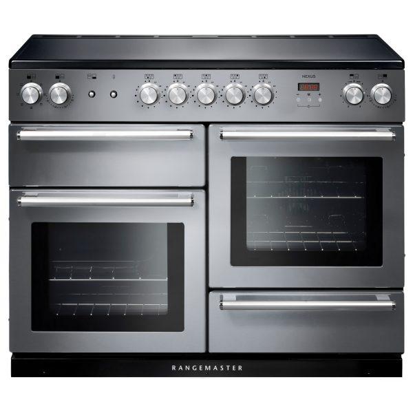 Rangemaster NEX110EISS/C Nexus 110 Induction Range Cooker in Stainless Steel