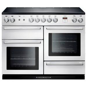 Rangemaster NEX110EIWH/C Nexus 110 Induction Range Cooker in White