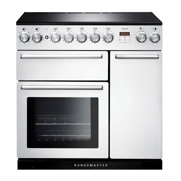 Rangemaster NEX90EIWH/C Nexus 90cm Induction Range Cooker in White