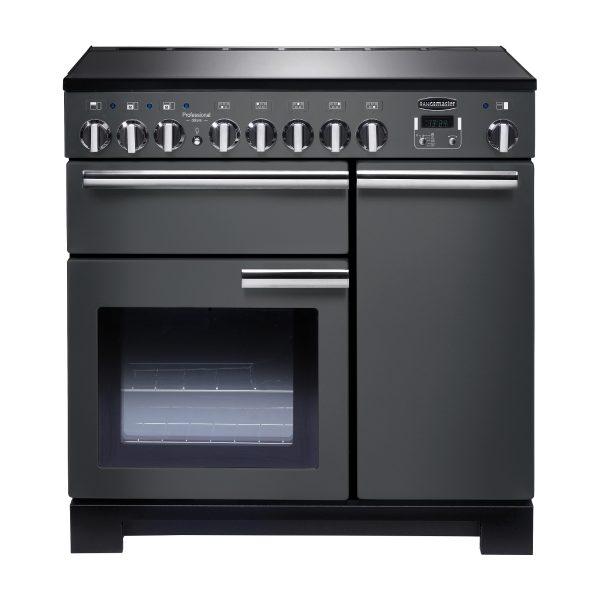 Rangemaster PDL90EISL/C Professional Deluxe 90 Induction Range Cooker – Slate