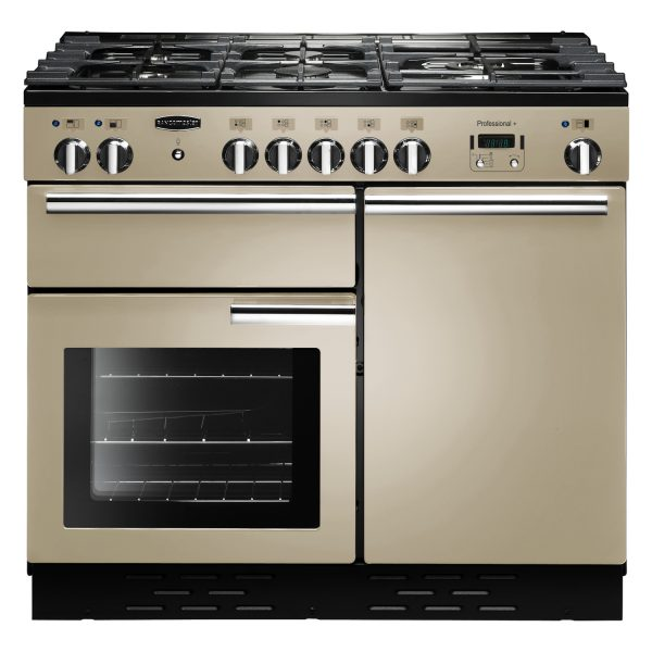 Rangemaster PROP100NGFCR/C Professional Plus 100 Gas Range Cooker In Cream