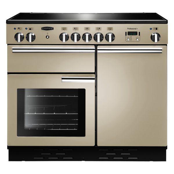 Rangemaster PROP100EICR Professional Plus 100 Induction Range Cooker In Cream