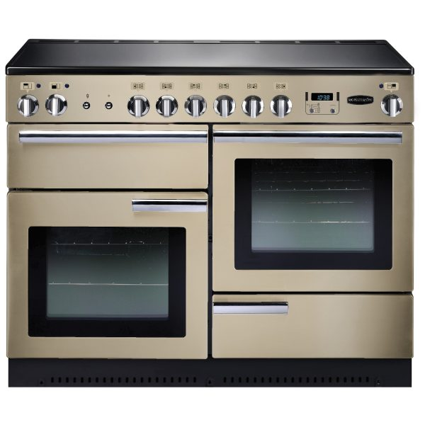 Rangemaster PROP110ECCR Professional Plus 110 Ceramic Range Cooker In Cream
