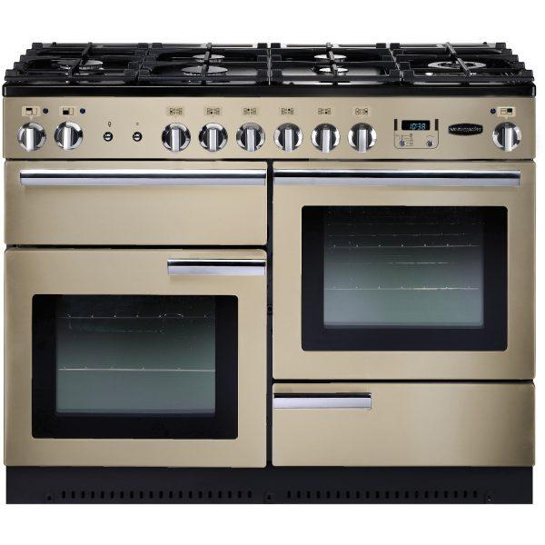 Rangemaster PROP110NGFCR Professional Plus 110 All Gas Range Cooker In Cream