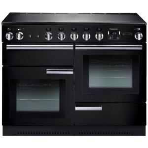 Rangemaster PROP110EIGB/C Professional Plus 110 Induction Range Cooker Gloss Black