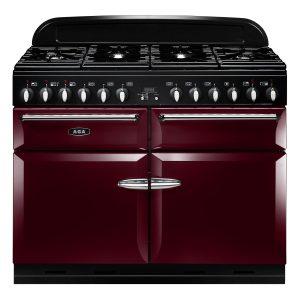 AGA MENXSF_CBY Masterchef XL Dual Fuel Cranberry Range Cooker 110cm