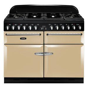 AGA MENXSF_CRM Masterchef XL Dual Fuel Cream Range Cooker 110cm