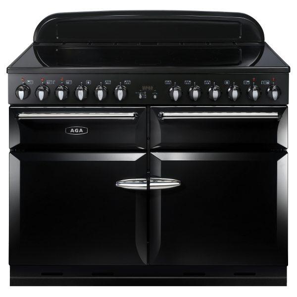 AGA MEIXSO_BLK Masterchef XL Induction Black Range Cooker 110cm