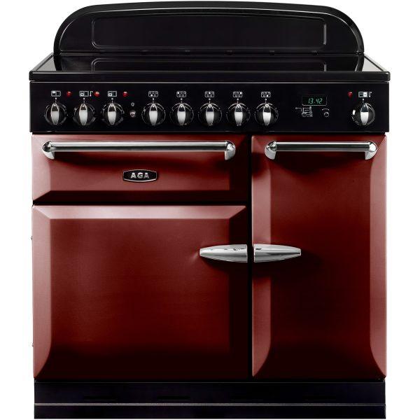 AGA MEIMSO_CBY Masterchef XL Induction Range Cooker Cranberry 90cm