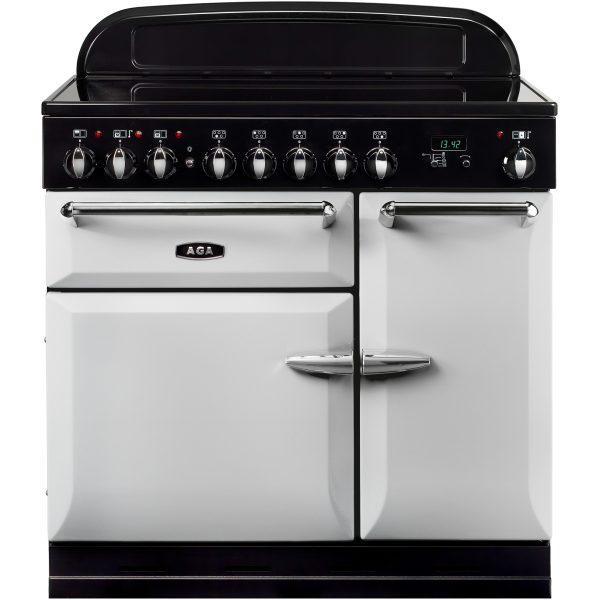 AGA MEIMSO_PAS Masterchef XL Induction Range Cooker Pearl Ashes 90cm