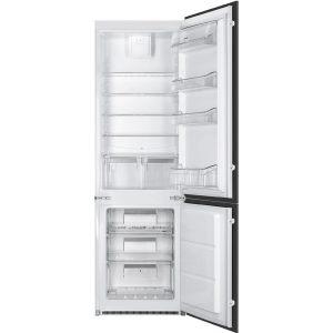 Smeg C7280NEP Bottom Mount Refrigerator-Freezer, Built-In