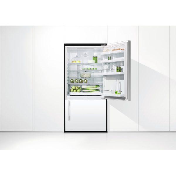 Fisher & Paykel E522BRWFD4 ActiveSmart™ Fridge – 790mm Bottom Freezer 473L