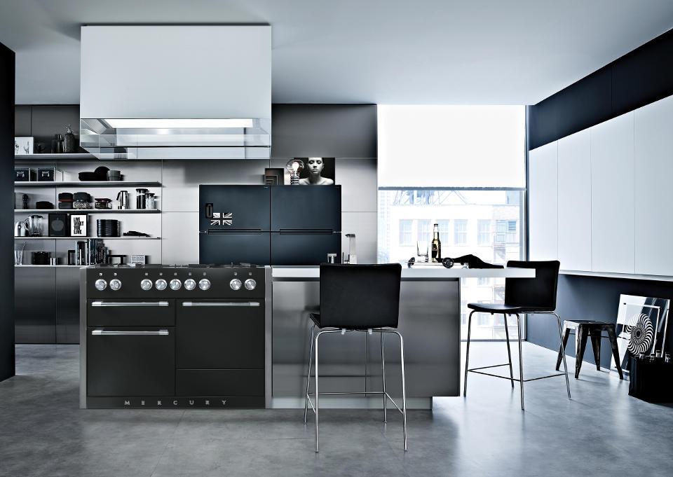 Mercury 1200 range cookers