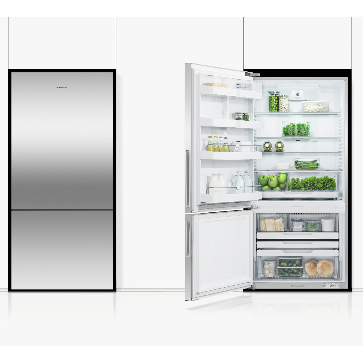 Fisher & Paykel RF522BLPX6 ActiveSmart™ Fridge Freezer Stainless ...