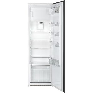 Smeg S7298CFEP In Column Larder Fridge with Freezer compartment Energy Efficiency Class A+