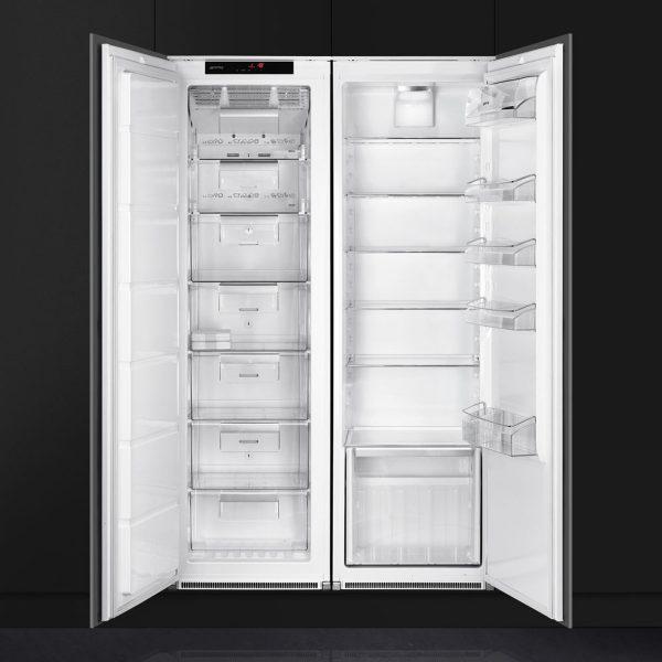 Smeg S7323LFEP Single Door Refrigerator, Built-In