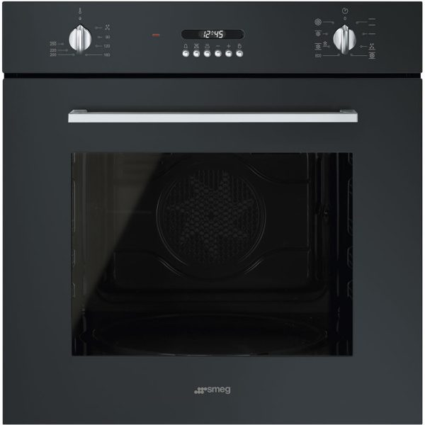 Smeg SF478N Cucina Aesthetic 60cm Multifunction Oven, Black