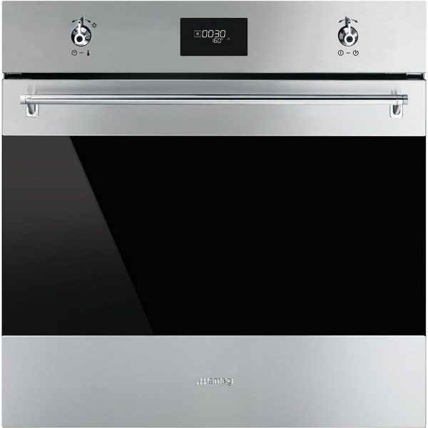 "Smeg SFP6372X Classic Aesthetic 60cm ""Classic"" Pyrolytic Multifunction Oven"
