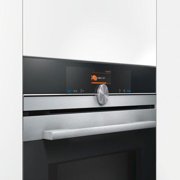 Siemens iQ700 HM656GNS6B Combi MW Oven