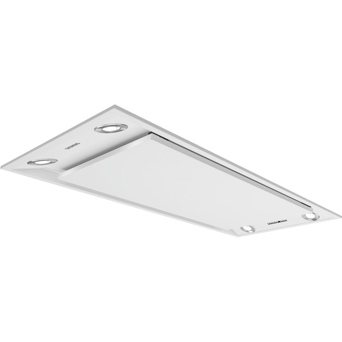 Siemens Lf959rb21b Iq700 Ceiling Hood White Discount