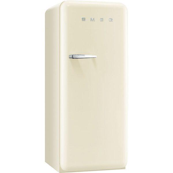Smeg CVB20RP1 50's Retro Style Aesthetic freezer in Cream, Right hand hinge
