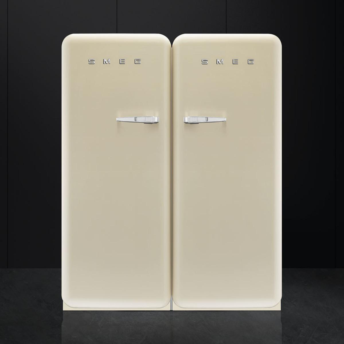 Smeg Cvb20rp1 50s Retro Style Aesthetic Freezer In Cream