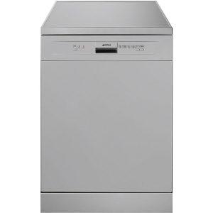 Smeg DF612SVE New 60cm Freestanding Dishwasher, Silver