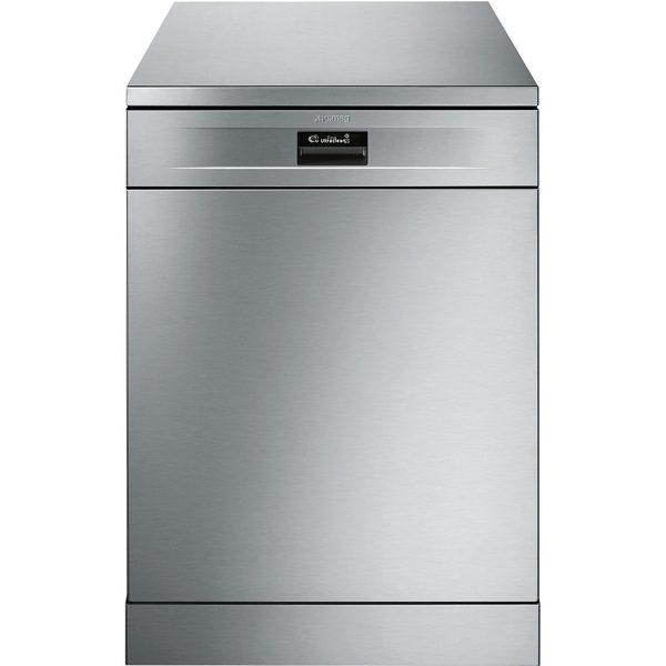 Smeg DF614PTX New 60cm Freestanding Dishwasher, Stainless Steel