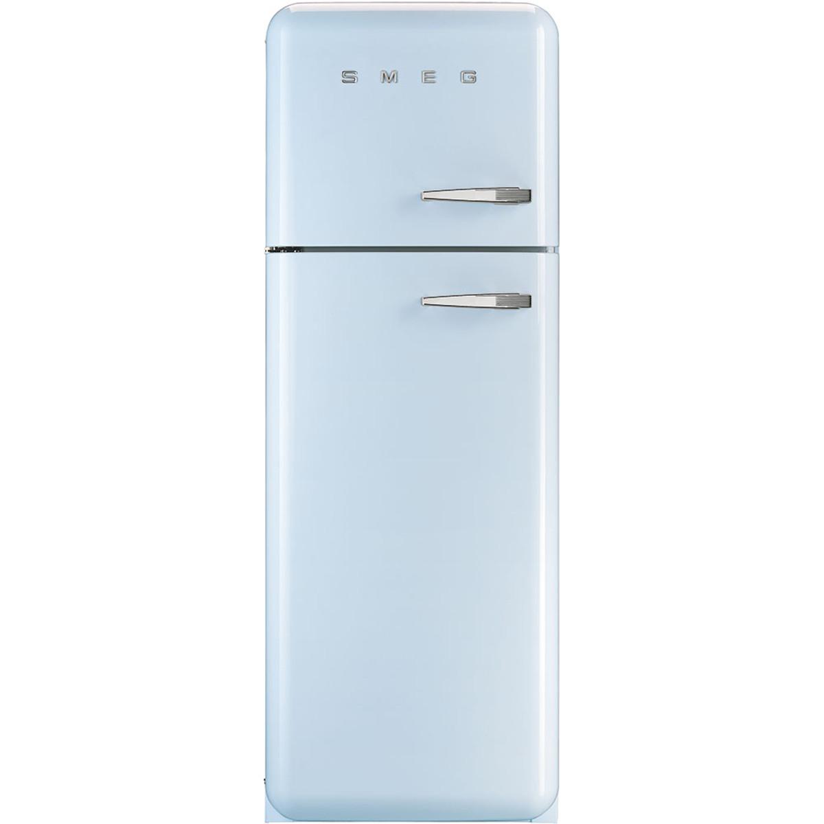 Smeg Fab30lfa 50 S Retro Style Aesthetic Fridge Freezer Pastel Blue Left Hand Hinge