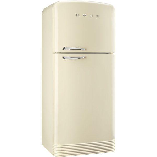Smeg FAB50RCR Retro Style Fridge Freezer In Cream RH Hinge