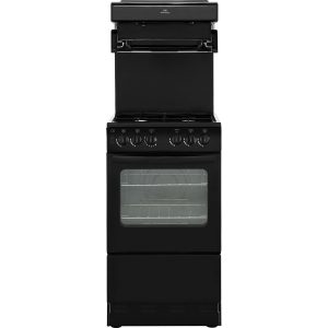 New World NW50THLG Gas Cooker with Full Width Gas Grill - Black