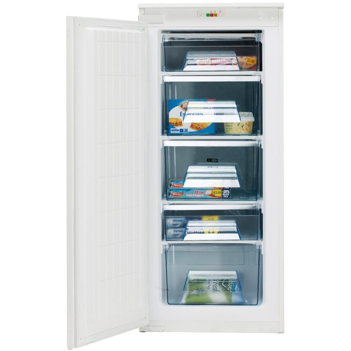 Caple RIF123 Integrated In-Column Freezer | Discount Appliance Centre