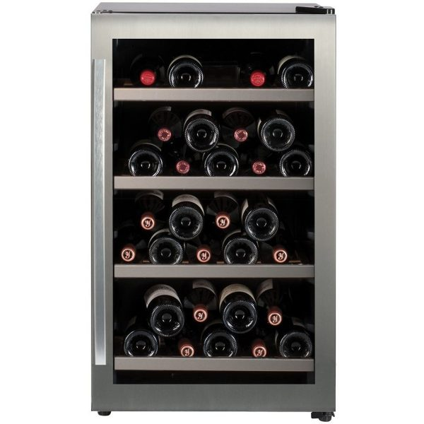 Caple WF333 Freestanding single zone wine cabinet H 840mm