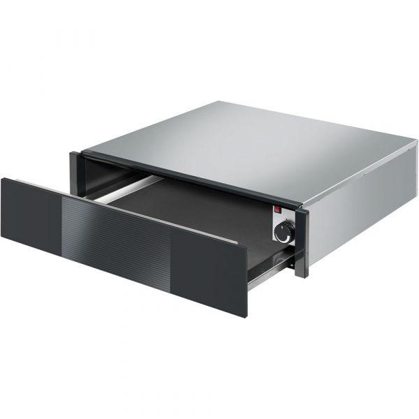 Smeg CTP1015N 60cm Linea Warming Drawer, Black 15cm Height