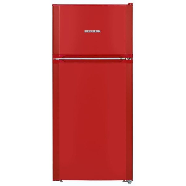 Liebherr CTPfr 2121 Comfort Fridge Freezer Fire Red