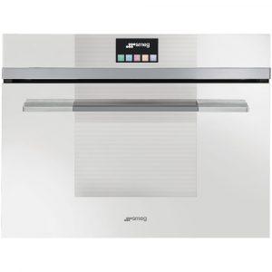 Smeg SF4140VCB 60cm Linea Combination Steam Oven, White