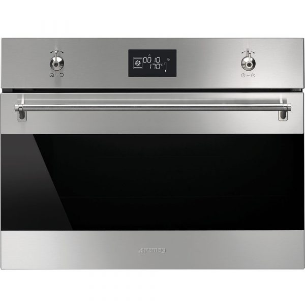 Smeg SF4390VCX 60cm Classic Compact Combination Steam Oven