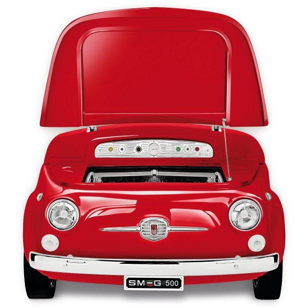 Smeg SMEG500R Exclusive Fiat 500 design refrigerator-cellar, Red