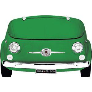 Smeg SMEG500V Exclusive Fiat 500 design refrigerator-cellar, Green