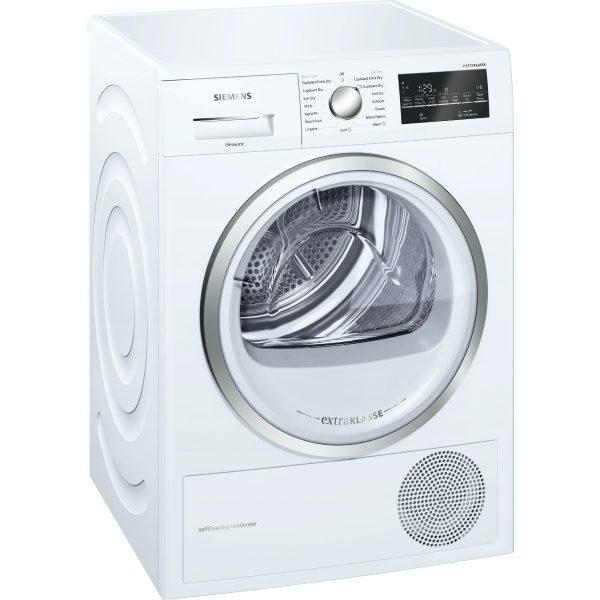 Siemens WT46W491GB 9kg Condenser Dryer with Heat Pump