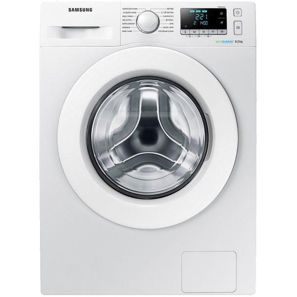 Samsung WW80J5556MW WW5000 Washing Machine with ecobubble™, 8kg