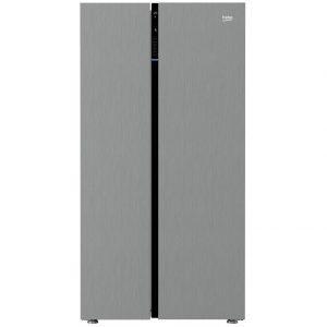 Beko ASGL142X American Style Side-By-Side Fridge Freezer