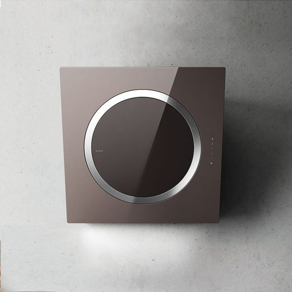 Elica IO-AIR-Nature Glass Wall Mounted Hood
