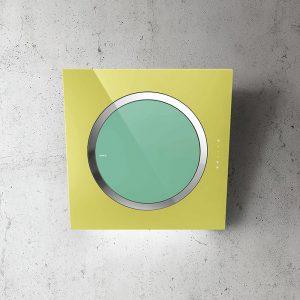 Elica IO-AIR-POP Glass Wall Mounted Hood